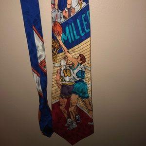 Nicole Miller 1992 Vintage 100% silk neck tie